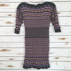 MISSONI Italy Womens Bodycon Mini Dress